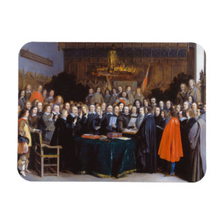 The Ratification of the Treaty of Münster 1648 Rectangular Photo Magnet