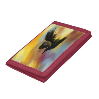 THE RAVEN 3 TRI-FOLD WALLETS