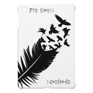 The Raven, Black and White iPad Mini Covers