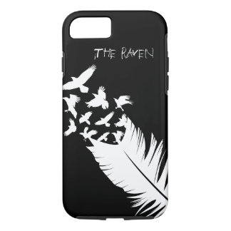 The Raven, Black and White iPhone 7 Case