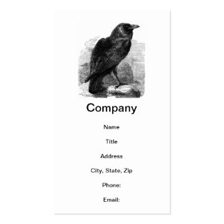 The Raven by Edgar Allen Poe Pack Of Standard Business Cards