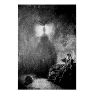 The Raven by Poe Poster