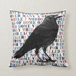 The Raven Cushion