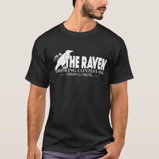 The Raven Indiana Jones inspired Mens dark T-shirt