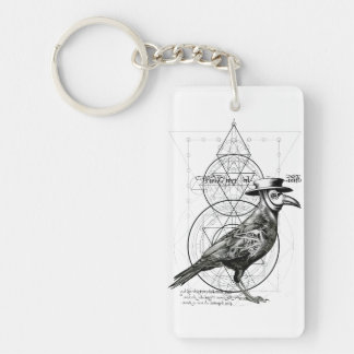 The Raven Key Ring