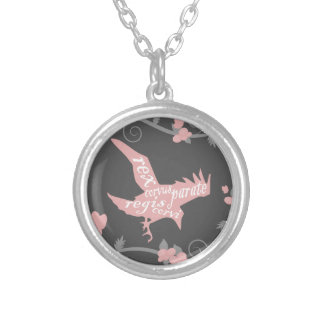 The Raven King Silver Plated Necklace