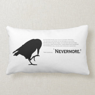 The Raven- Nevermore pillow