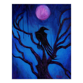'The Raven Nevermore' Poster