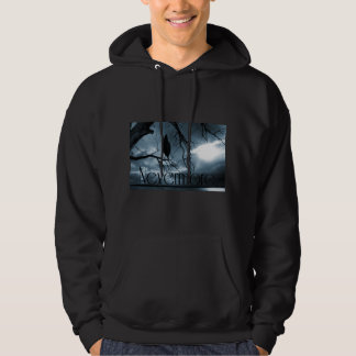 The Raven - Nevermore Sunbeams & Tree Blue Hoody
