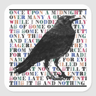 The Raven Stickers