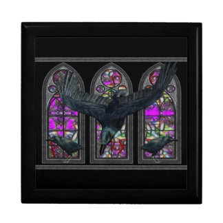 The Ravens Gothic Jewelry Keepsake Box