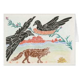 The Ravens' Nest Notecard
