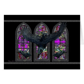 The Ravens Samhain Blessings Greeting Card