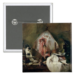 The Ray or, The Kitchen Interior, 1728 15 Cm Square Badge