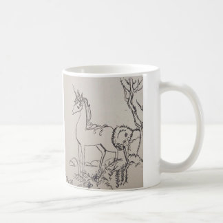 The read unicorn coffee mug
