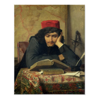 The Reader, 1856 Poster