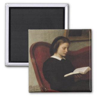 The Reader, 1861 Magnet