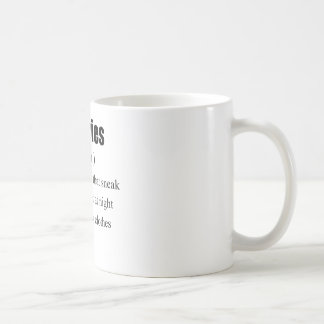 The Real Definition of Calories Basic White Mug