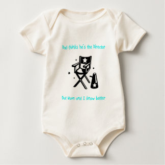 The Real Director Baby Baby Bodysuit