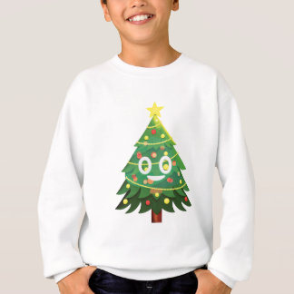 The real Emoji Christmas tree Sweatshirt