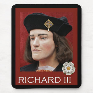 The Real McCoy Richard III Mouse Pad