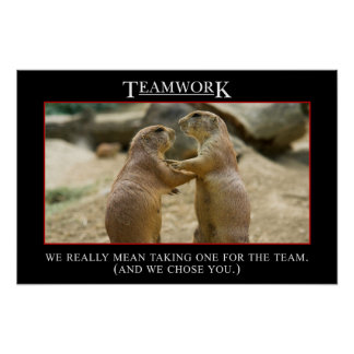 The real meaning of teamwork (S) Poster