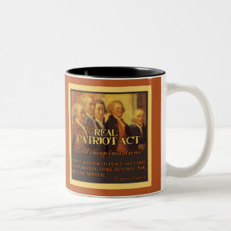 The Real Patriot Act, The Founding Fathers Mug