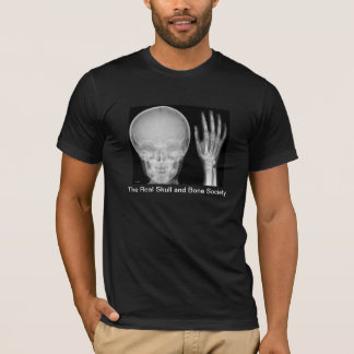 """The Real Skull and Bone Society"" with X-rays T-Shirt"