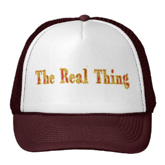 The Real Thing Cap