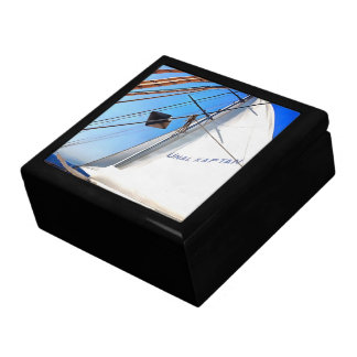 The Realist Adjusts The Sails pill Large Square Gift Box