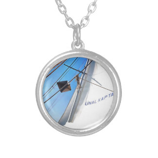 The Realist Adjusts The Sails pill Silver Plated Necklace