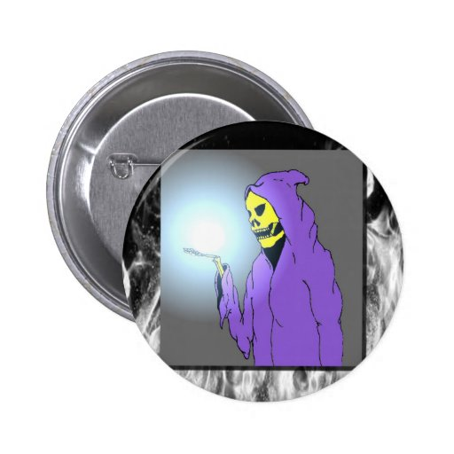 The Reaper and Flames Buttons