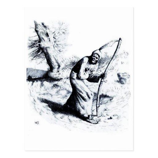The Reaper postcard