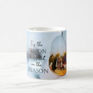 The Reason for the Season Nativity Scene Coffee Mug