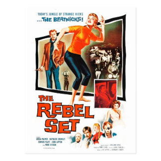 """The Rebel Set"" Postcard"