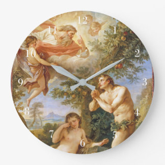 The Rebuke of Adam and Eve Large Clock