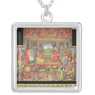 The Reception for the Ambassador Silver Plated Necklace