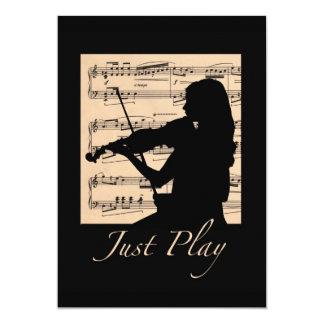 The Recital Card