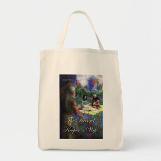 """The Record Keeper's Wife"" Grocery Tote Tote Bag"