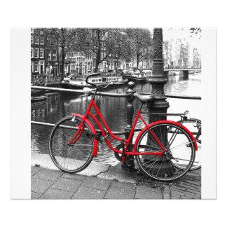 The Red Bike 1 art photo