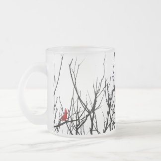 The Red Bird by Leslie Peppers Mug
