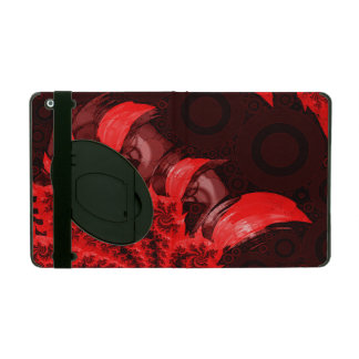 The Red, Black, and Bladed Garra del Diablo iPad Cover