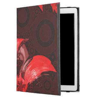 "The Red, Black, and Bladed Garra del Diablo iPad Pro 12.9"" Case"