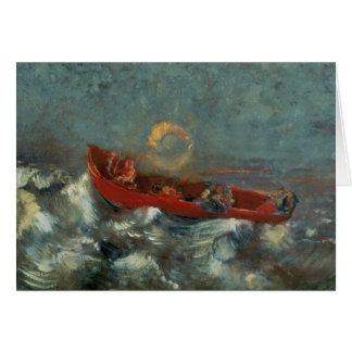 The Red Boat, 1905 Card