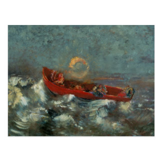 The Red Boat, 1905 Postcard