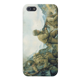 The Red Bull in the Winter Line by Donna Neary iPhone 5/5S Case