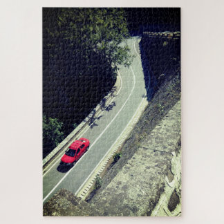 The Red Car Jigsaw Puzzle