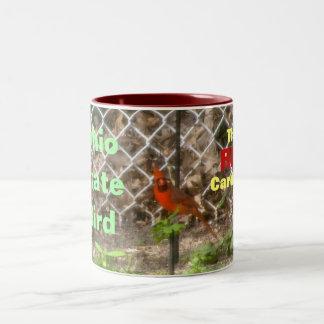 THE RED CARDINAL, OHIO BIRD mug