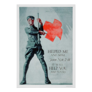 The Red Cross Helped Me (US00036) Poster