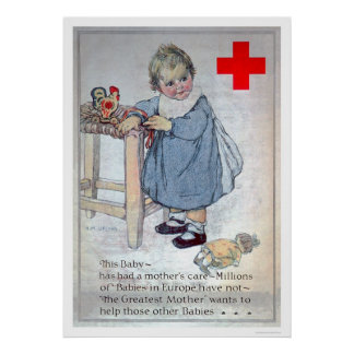 The Red Cross helps Europe's Babies (US00153) Poster